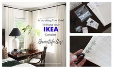 Oscar Bravo Home Ikea White Curtains, Thick Curtains, Home Curtains, Custom Curtains, Hanging Curtains, Curtains With Blinds, Blinds For Windows, Panel Curtains, Window Blinds