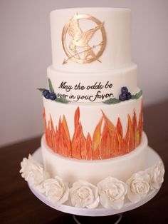 Sure, pop culture influences the masses -- but a Hunger Games-themed wedding? That's where we draw t