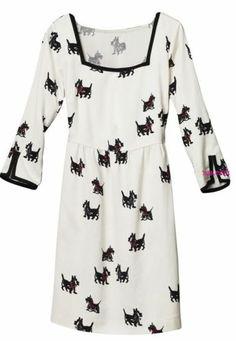 H M Scottie Dog Rachel Berry Glee Shift Linen Mix Dress XS 8 4 34 RARE New | eBay