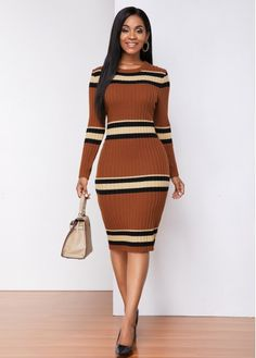 Tan Dresses, Tight Dresses, Elegant Dresses, Dresses For Sale, Tailored Dresses, Work Dresses, Dress Sale, Pretty Dresses, Dresses Online