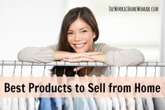 Best Products to Sell from Home