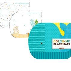 Ballerina Mouse 18″ $24.95  Boxer Dog $16.00–$24.50  Color Me Placemats – Ocean $12.00
