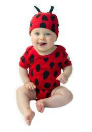 Ladybug Baby Girl Hat, Onesie and Bootie Set Animal Costumes, Baby Costumes, Baby Girl Hats, Girl With Hat, Kids Branding, Branding Design, Baby Ladybug, Fun Prints, Baby Accessories