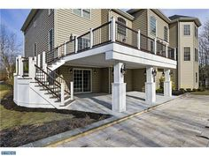 2 story deck with patio - Google Search