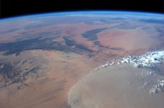 Astronaut Karen Nyberg tweeted this beautiful photo of North Central Africa, taken from the International Space Station. Image released Aug. 13, 2013.