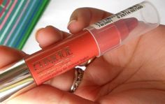 Clinique Chubby Stick Moisturizing Lip Colour Balm Mega Melon: Review, Swatches and FOTD