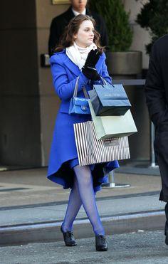 #blair #waldorf #queen #gg #leighton #diva #gossip #girl #season #three #3x15 #TheSixteenYearOldVirgin