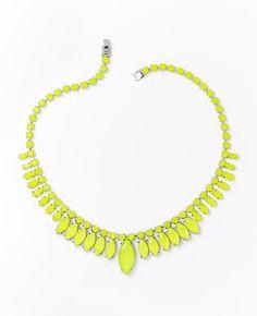 Ann Taylor Sunburst Necklace