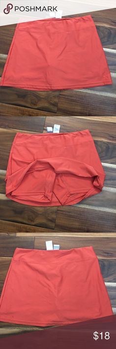 Nike skirt/skort workout Good condition. Burnt orange color Nike Shorts Skorts