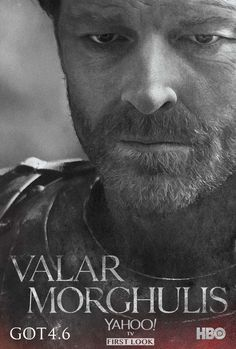 Game of Thrones Season 4 poster of Iain Glen as Jorah Mormont
