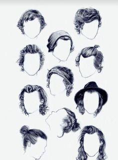 Man Hair Style Draw
