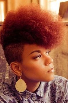 Jazzy Mohawk Hairstyles For Black Women Hairstyles 2016 Hair Afro Mohawk Hairstyles Spring Hairstyles, Black Women Hairstyles, 80s Hairstyles, Natural Mohawk Hairstyles, Female Hairstyles, Hairstyles Pictures, American Hairstyles, Hairstyle Ideas, Hair Ideas