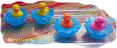 Happy Duckling glycerine soap by Eleni by ElenisLittleShop on Etsy