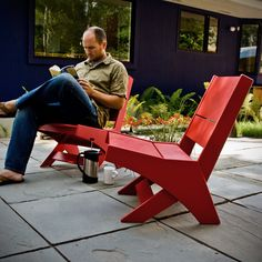 Lotus Chair | Loll Designs | Modern Recycled Outdoor Furniture