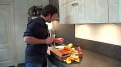 Kooktip: Partjes uitsnijden van sinaasappel, grapefruit en citroen. #Kok...