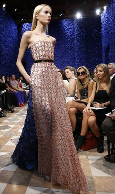 Dior Couture Fall 2012 Collection Photo 1