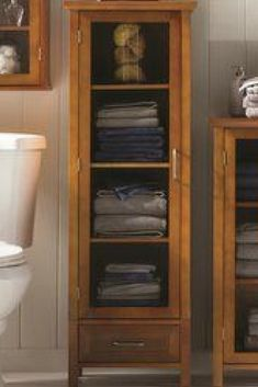 The x Linen Tower allows you to store your linen or miscellaneous items in a neat and easily accessible way. This linen tower is sized to aesthetically fit into any space of your home. Great for storage and organizing your home. Bathroom Linen Cabinet, Linen Cabinets, Bathroom Cabinets, Bathroom Storage, Small Bathroom, Bathroom Plants, Cupboards, Bathroom Ideas, Cabinet Shelving