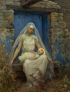 Alma Mater - Virginie Demont-Breton  1899
