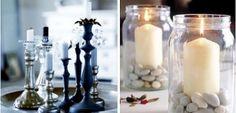 """Nueva campaña """"MANOUALIA"""" Crea centros de mesa originales con candelabros y velas."""