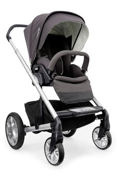 This Nuna 'MIXX' stroller is a lifesaver! Not only is it sleek and stylish, but it has all-terrain wheels and a strong-yet-lightweight frame features three easy modes—forward facing, parent facing and flat for sleeping—to accommodate whatever baby likes the best!