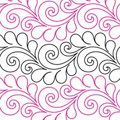 Deja Vu - Digital - Quilts Complete - Continuous Line Quilting Patterns