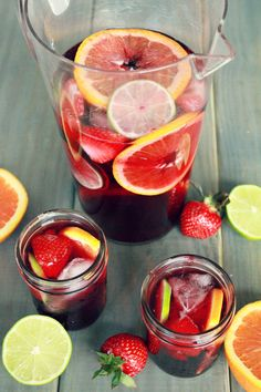 red sangria popsicles