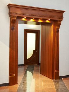 Interior Wood Doors For Sale House Front Design, Pooja Room Door Design, Wooden Door Design, Wooden Arch, Wood Doors Interior, Entrance Decor, Entrance Door Design, Door Design Interior, Room Door Design