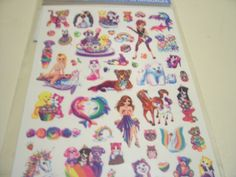 Lisa Frank's tatoos