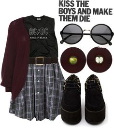 """Untitled #214"" by muhshells ❤ liked on Polyvore Don't agree with the sentiment but good outfit"