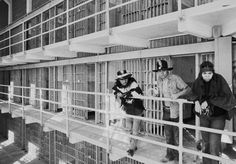 American Indians in the prison at Alcatraz during an occupation of the island in 1969. Credit RWK/Associated Press