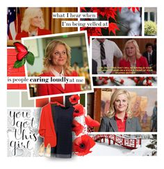 """Leslie Knope a.k.a. The Best"" by forebodinq ❤ liked on Polyvore featuring Thomsen Paris, WALL, Palecek, Sandro, Christian Louboutin, parksandrec, parksandrecreation and leslieknope"