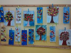 Art For Kids, Crafts For Kids, Arts And Crafts, Art Projects, Projects To Try, Butterfly Project, Seasons Activities, Hebrew School, Autumn Art