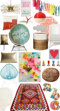 Nursery Finds to Energize and Inspire