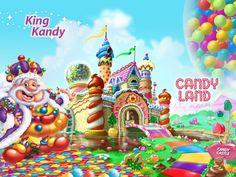 Ideas y material gratis para fiestas y celebraciones Oh My Fiesta!: Imágenes e imprimibles de CandyLand.