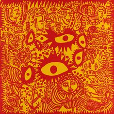 FEELING HAPPY OUT IN THE FIELD-Yayoi Kusama