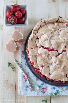 Johannisbeeren Kuchen mit Baiser - Rezept