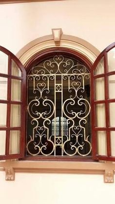 28 Best Wrought Iron Window Grill Images Iron Windows