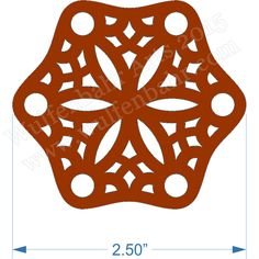 6 Hole Hexagonal Tablet Weaving Cards de Wulfenbahr Arts | Square Market