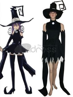 Soul Eater Blair Cosplay Costume, Make you the same as Blair in this Soul Eater cosplay costume for cosplay show.