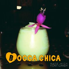 Bocca chica cocktail