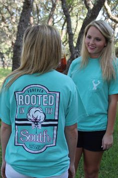 "NEW DESIGN! - ""Forever Rooted in the South""  - SS Pocket - check it out at WWW.JADELYNNBROOKE.COM #jadelynnbrooke #southern"