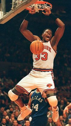 Ewing for the DUNK! #NewYorkKnicks