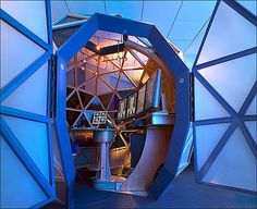 Geodesic pacs station