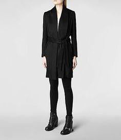 Still want this! Womens Zina Coat (Black) |