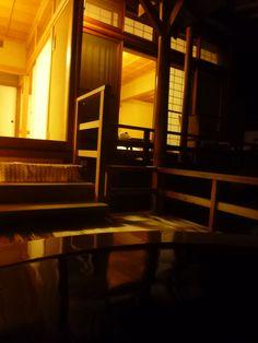 """Terme, Camera di """"Kashiwaya-Honten""""(Hotel), Bessyo-Onsen(Terme), Ueda Nagano Japan"""