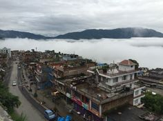Aftershock in Gorkha (3.5 hours from Kathmandu by vehicle) you still can see how beautiful the city :)