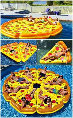 Pizza Pool Float Who Wants a Slice Who wants a slice? The Pizza Pool Float is the ultimate pool float for your next pool party. Eight delectable and detachable pizza slices. The post Pizza Pool Float Who Wants a Slice appeared first on Summer Diy. Summer Pool, Summer Fun, Summer Vibes, Pizza Pool Float, Sommer Pool Party, Cool Pool Floats, Pool Floats For Adults, My Pool, Pool Backyard