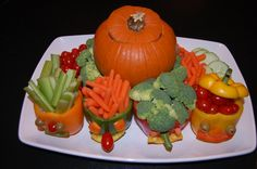 fun veggie trays | Found on mommonsense.com