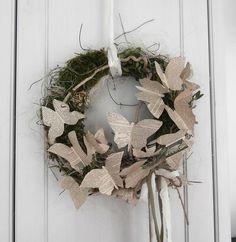 Türkranz  Flieg, Schmetterling flieg  von *La Isla Sun*  auf DaWanda.com