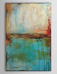 Oil Painting Abstract 1303-AB0360 Hand-Painted Canvas – AUD $ 78.64